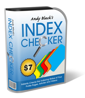 Index Checker Only $7